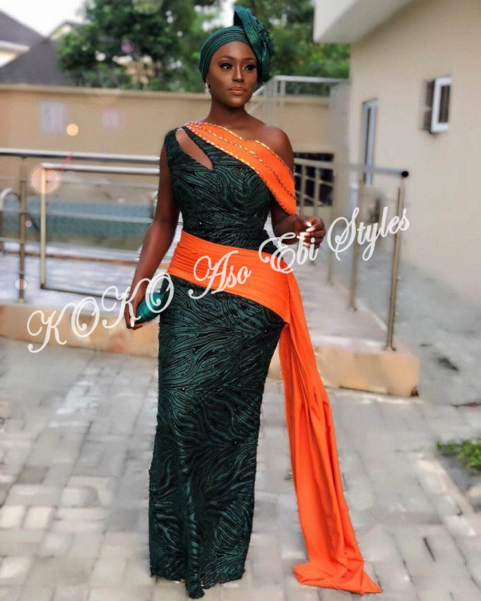 It's All About The Drapes! Five Super Stylish Aso-ebi Styles With Fantastic Drapes 1
