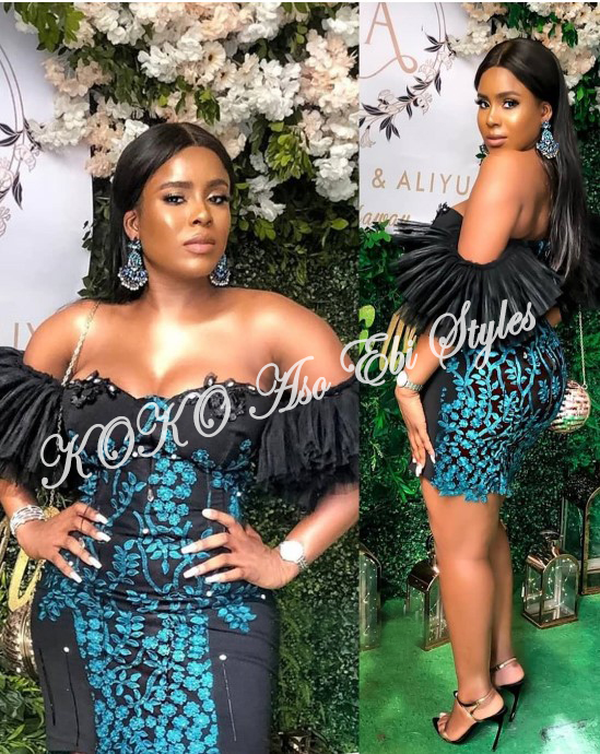 Channel Your Inner Stunning In These Five Extra Flattering Aso-ebi Styles 4