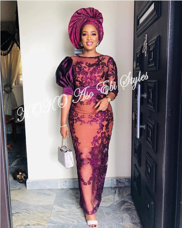 Be The Stunning Wedding Guest In These Five Breathtaking Aso-ebi styles 3