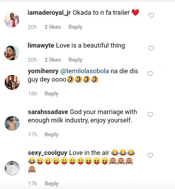 Check Out The Sweet Reactions That Trailed This Nigerian Man And His BBW Wife's Wedding 4