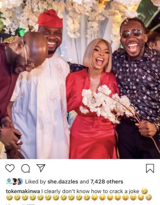I Don't Think You Are Funny- Toke Makinwa Blasts Bovi For Making Fun Of Her 'Real Cute' Ass 2