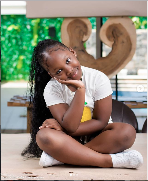 KOKO Junior: See Cute Photos Of Timaya's Daughter, Emma As She Celebrates Her 7th Birthday 11
