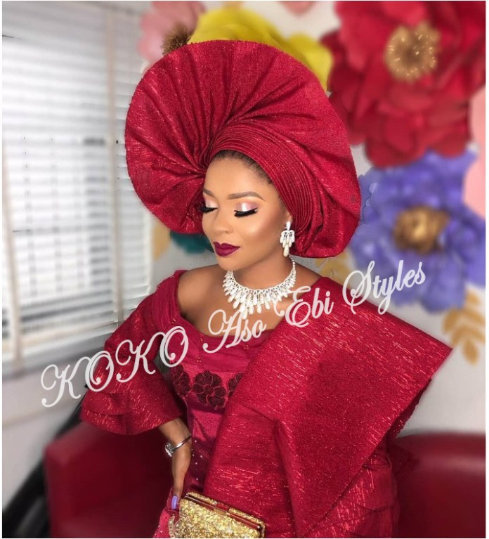 Gele Frenzy: Five Gele Styles That Would Vamp Up Your Owanbe Look 4