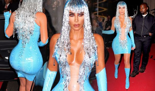 Real Life Barbie! Check Out Kim Kardashian's Met Gala After Party Latex Dress That Everyone Is Talking About 1