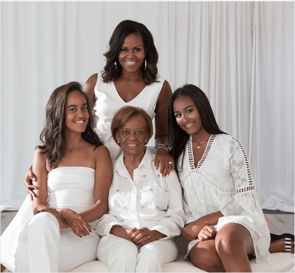 Michelle Obama Shares Beautiful Family Photos As She Celebrates Mother's Day 3