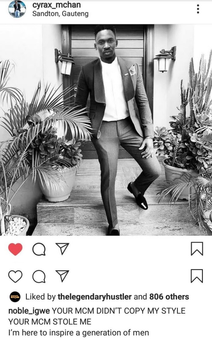Hilarious! Man Photoshops His Head On Noble Igwe's Body In Order To Steal His Fashion Style 2