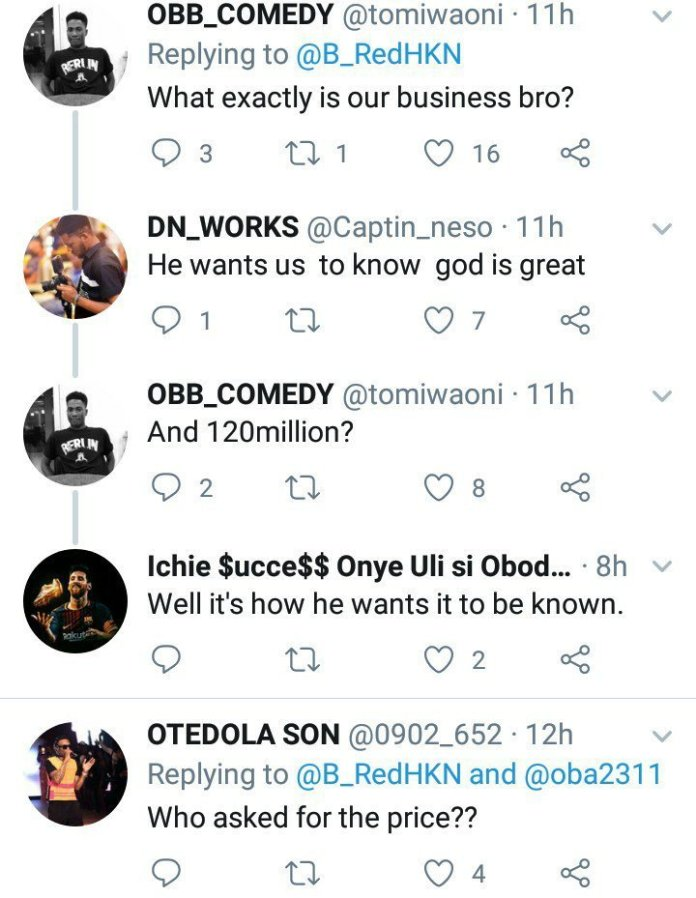 Twitter Users Slam Singer B-red For Flaunting His Newly Acquired N120m Crib 1