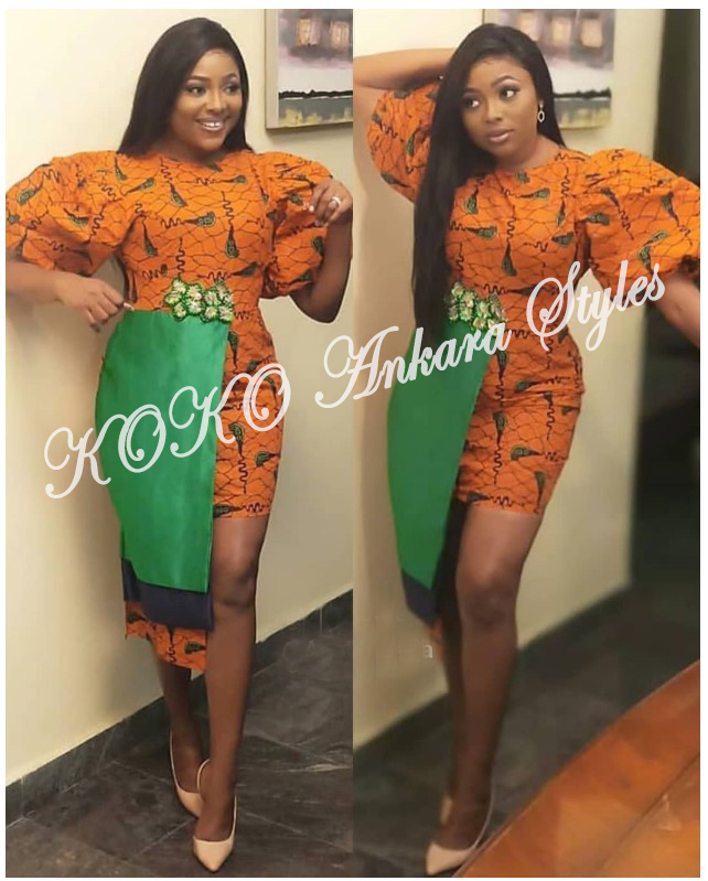 These Five Extremely Chic Ankara Styles Are Definitely All You Need To Look Super Stunning This Month 1