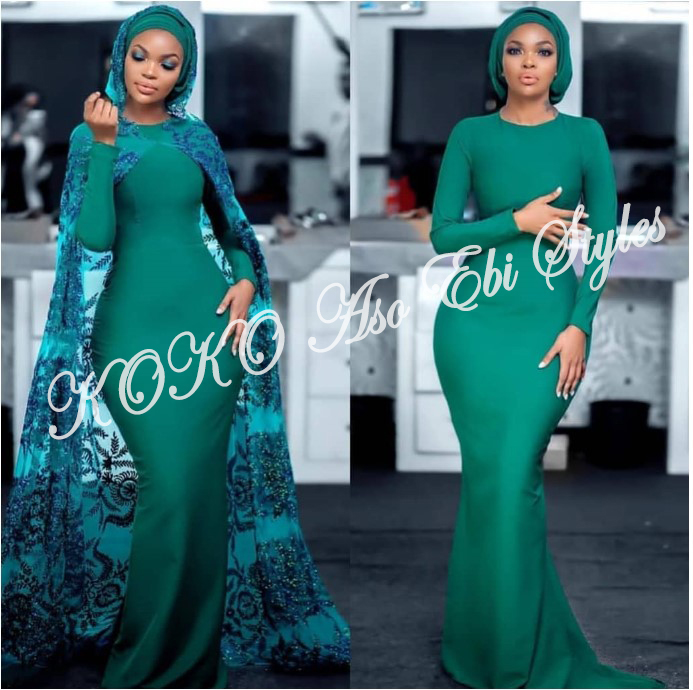 Bring On The Stunning In Lovely Green Aso-ebi Designs At Your Next Owanbe 12