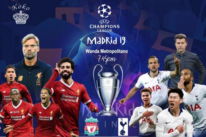 Champions League Final: Tottenham Vs Liverpool Starting ...