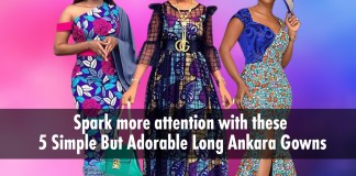 Ankara Styles: 5 Simple Yet Adorable Long Ankara Gowns