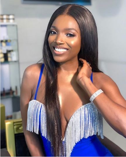 Annie Idibia Flaunts Her Banging Body In A Daring Silky Outfit Sending Her Fans Wild 2