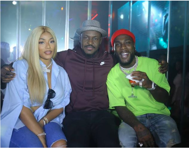 Stefflon Don Is All Lovey-Dovey With Burna Boy As She Couldn't Take Her Eyes Off Him At His Birthday Bash 3