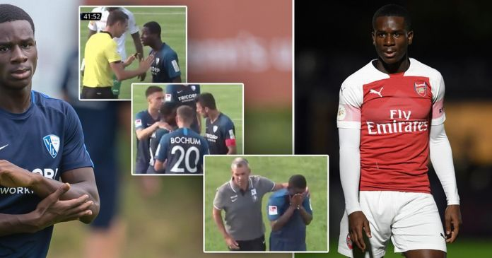 Arsenal Youngster Jordi Osei-Tutu Leaves Football Pitch In Tears After Being Racially Abused 2