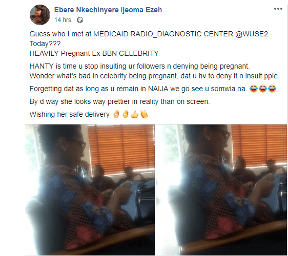 Entitled Dingbat! Daddy Freeze Slams Facebook Lady Who Revealed TBoss Was Pregnant 1