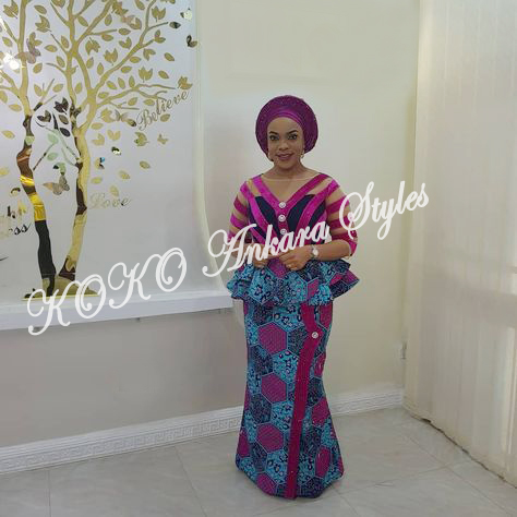 Ankara Skirts And Blouse Are Not Dying! Check Out These Adorable Styles You Need To Sew 4