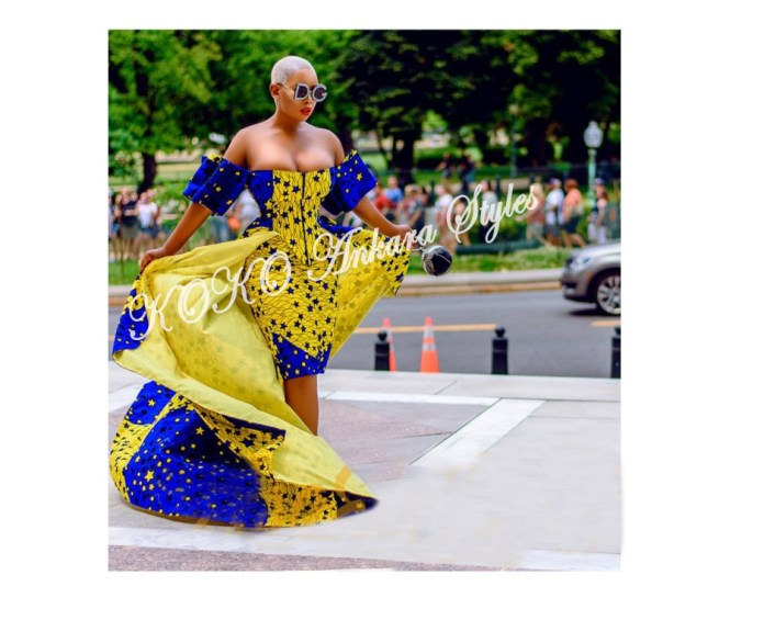 Get In The Glam Zone With These Five Printastic Ankara Designs 5