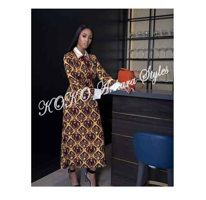 Five Stunning And Chic Ankara Styles You Should Rock This Month 4
