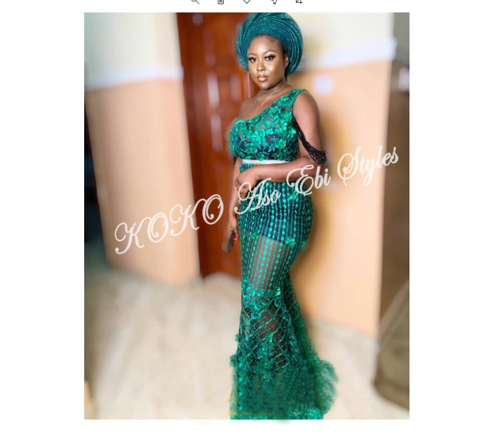 Slay Beautifully In These 5 Amazing And Ultra Chic Aso-ebi Designs For Your Next Owanbe 2