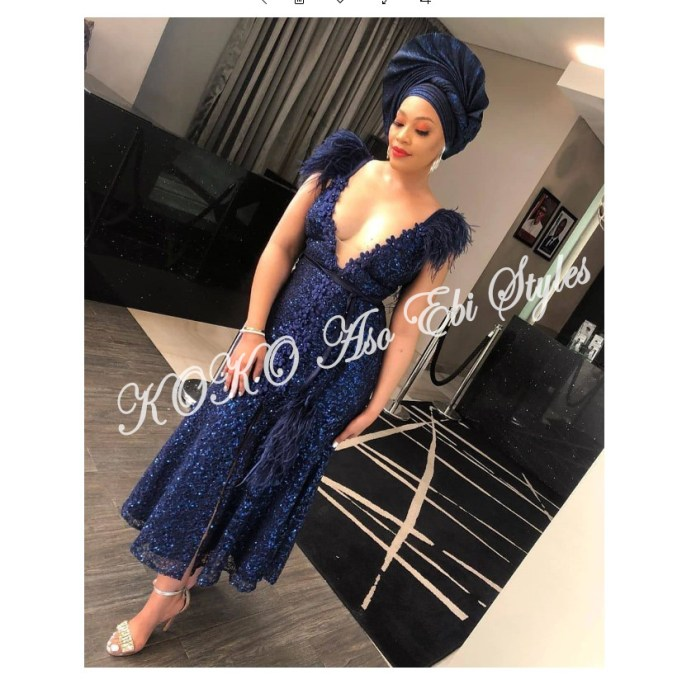 Five Latest And Gorgeous Aso-ebi Styles For The Month Of July 1