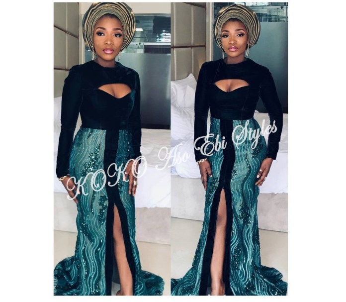 Stunning! Be The Center Of Attraction At Your Next Owanbe In These Latest Hot Aso-ebi Styles 1