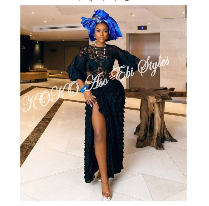 Five Latest And Gorgeous Aso-ebi Styles For The Month Of July 4