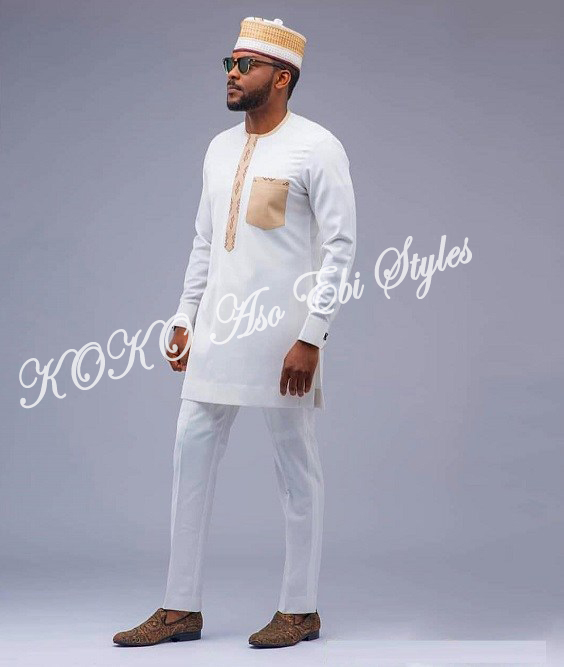 Tailor Made And Owanbe Ready! Five Aso-ebi Designs Perfect For The Male Folks 2