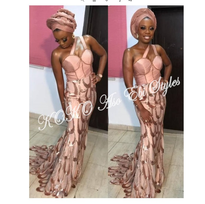 Five Latest And Gorgeous Aso-ebi Styles For The Month Of July 5