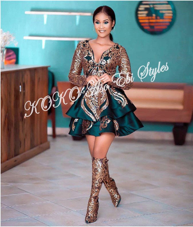The Hottest And Glamorous Aso-ebi Styles Are Here! These 5 Designs Are  🔥🔥🔥 2