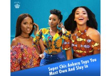 Ankara Styles: Super Chic Tops You Must Own And Slay In