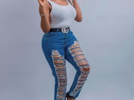 Chika Ike Stuns In Afro And Ripped Jeans In New Snaps