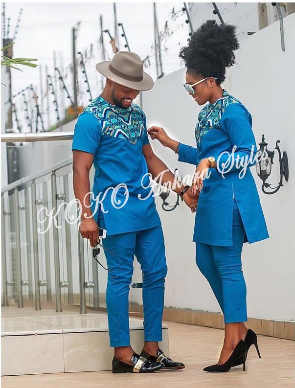 Stylishly Couple Up In 5 Co-ordinating Ankara Designs 3
