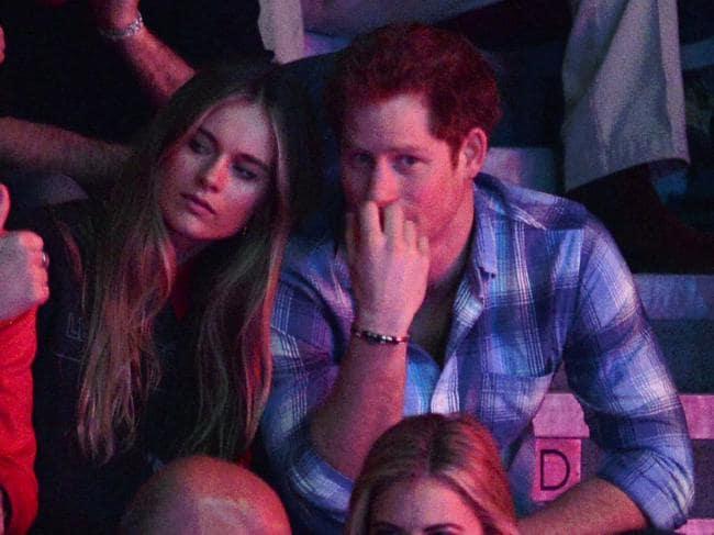 Prince Harry And Cressida Bonas