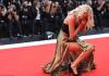 Oops! Elsa Hosk Suffers Wardrobe Malfunction On 2019 Venice Film Festival Red Carpet