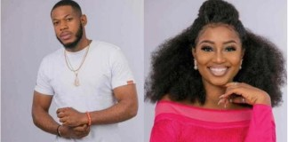 #BBNaija: Watch Moment Frodd Proves His Stripping Ability To Esther