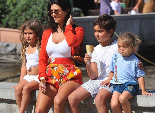 Kourtney Kardashian Requests Parenting Tips From Church Pastors