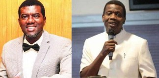 reno omokri calls out Pastor Adebayo over abduction of 5 RCCG Pastors