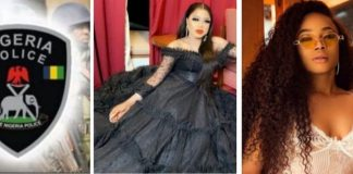 Toke Makinwa Reacts To Police Disrupting Bobrisky's Birthday Party