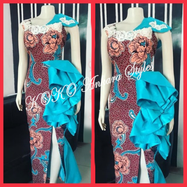 Ankara Styles: Be The Sultry Chic In These 5 Lovely Styles