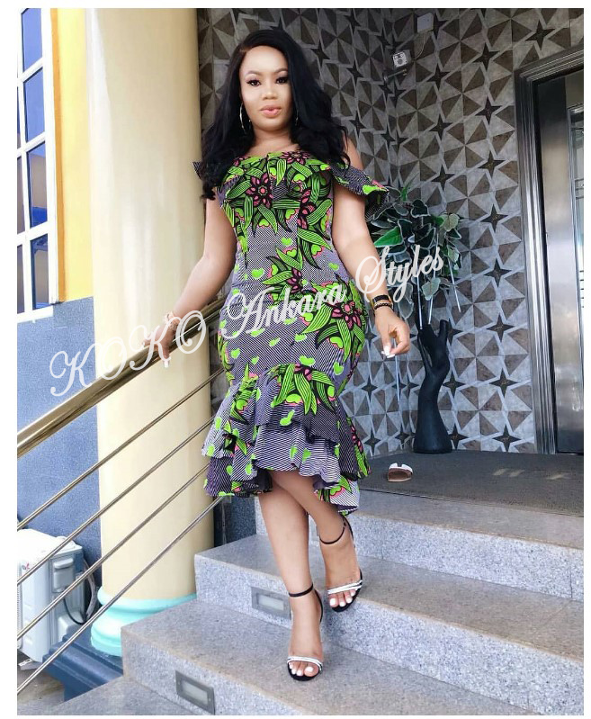 Ankara Styles: Flaunt Your Hot Curves In These Sizzling African Prints 1