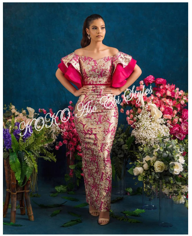 Aso-ebi: Channel Your Inner Diva In These 5 Glamorous Designs 4