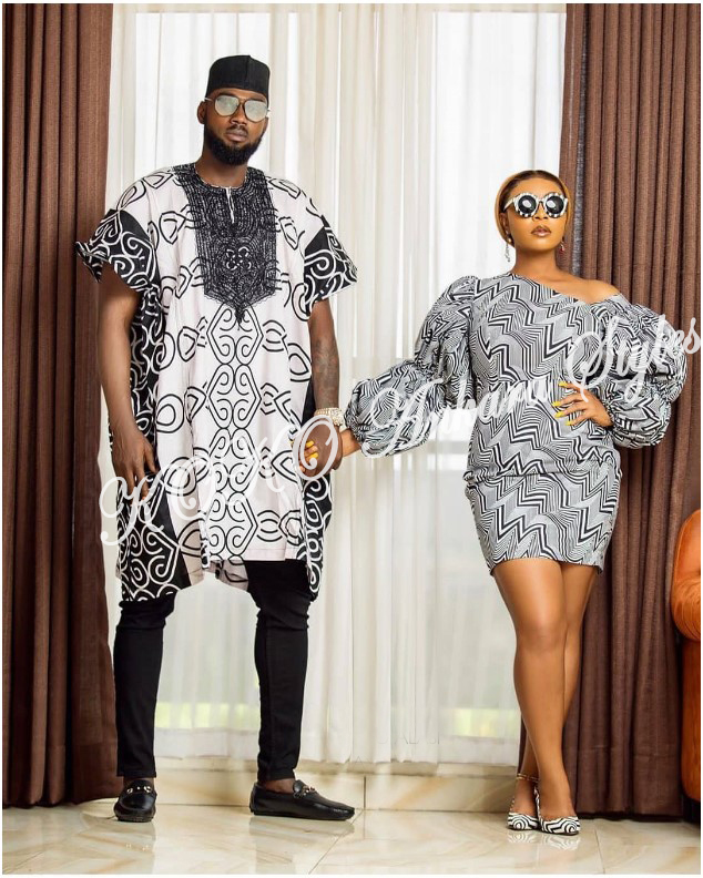 Stylishly Couple Up In 5 Co-ordinating Ankara Designs 4