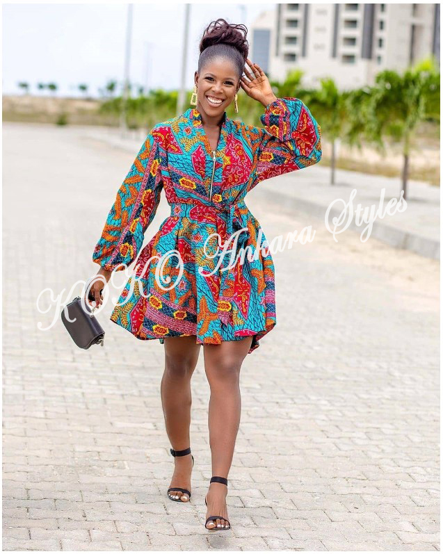 Ankara Styles: Adorable Designs To Spark Up The New Week With