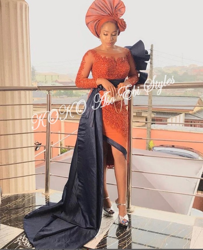Channel Your Inner Gorg In These 5 Extra Stunning Aso-ebi Styles 3