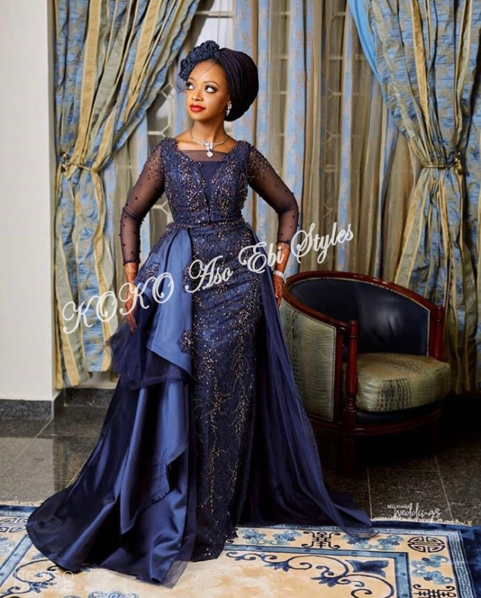 Channel Your Inner Gorg In These 5 Extra Stunning Aso-ebi Styles 4