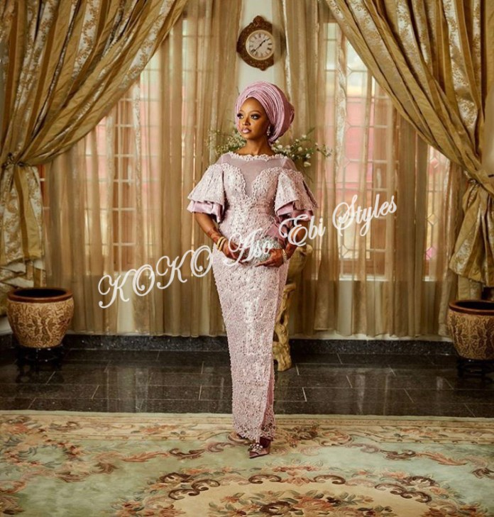 Channel Your Inner Gorg In These 5 Extra Stunning Aso-ebi Styles 5