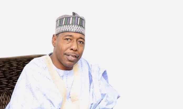 Borno State Governor Babagana Zulum's Convoy Again