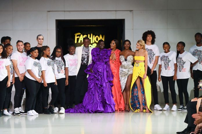 From Wizkid's Epic Dolce & Gabbana Show To Tiwa Savage's Catwalk For Fashion For Relief Walk, See How Nigerian Celebs Are Strutting It On The Runway 3