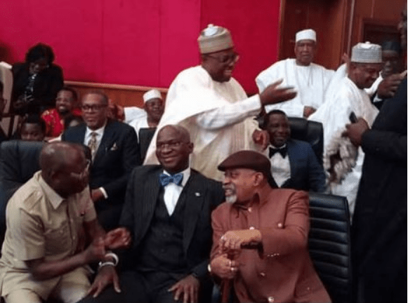 Photos: Fashola, Oshiomhole, Secondus, Others Arrive Appeal Court For Final Presidential Verdict 5