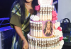 Iyabo Ojo Goes All Emotional As She Gets Money Cake From A Fan